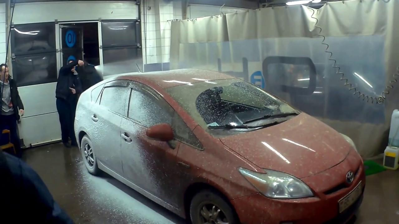 чем отмыть автомобиль от цементного раствора
