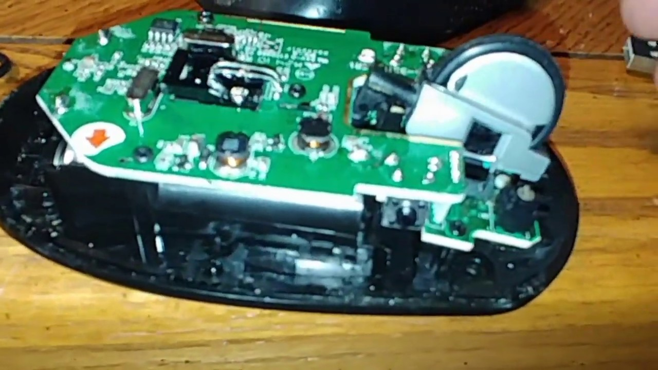 Scroll Wheel Repair Microsoft Wireless Mouse 5000