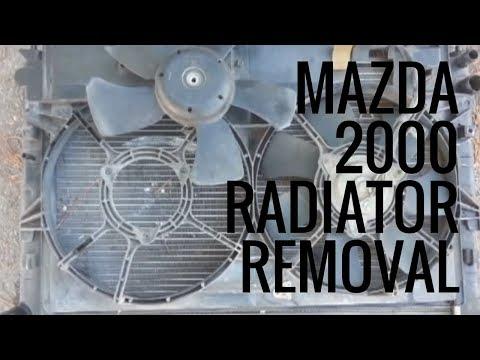 Mazda MPV 2000: Radiator Replacement - Part I [Problem, Diagnosis, Radiator removal]