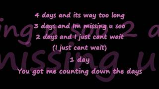 Claude Kelly - Counting Down The Days + Lyrics