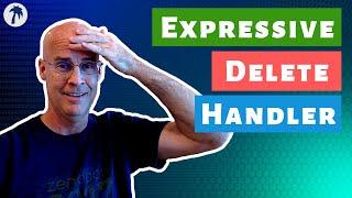 Delete handler middleware in Zend Expressive PHP REST API - 012