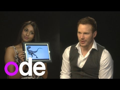 Jurassic World: Chris Pratt and Bryce Dallas Howard take dinosaur test
