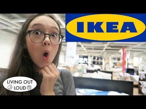 IKEA Furniture Shopping For Fiona's Room + SF Audition   Shopping & Hauls   Living Out Loud