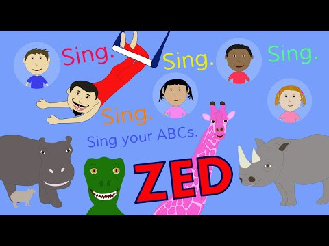 We're Singing the ABCs (ZED version)