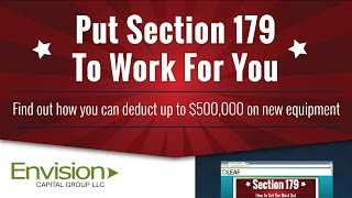 Section 179 Tax Code Review