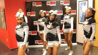 School Without Walls cheerleaders on WPGC