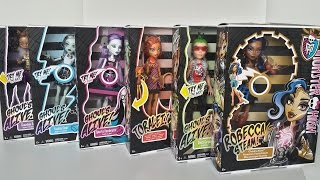 Ghouls Alive Complete Collection for Wave 1 & 2 - Monster High