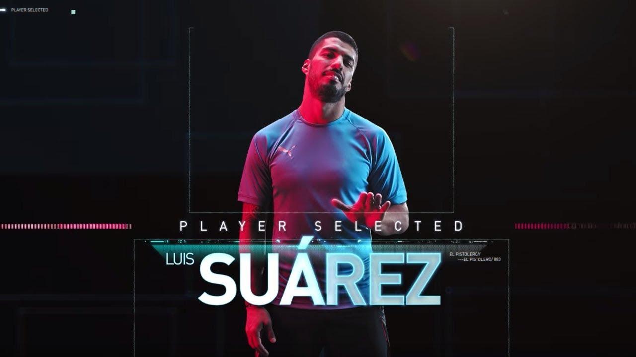 8a1d78242 PUMA   Luis Suárez. POWER UP. Unlock New Levels 🎮 - YouTube