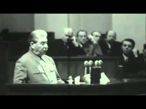 Stalin's Final Speech 1952 [Subtitled]