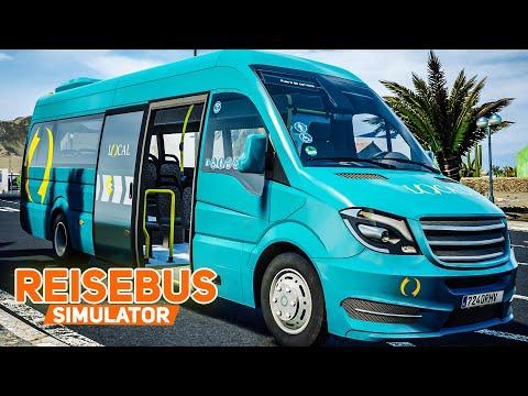 Tourist Bus Simulator #20: Sportliche Urlaubstour Im MERCEDES SPRINTER! | REISEBUS SIMULATOR