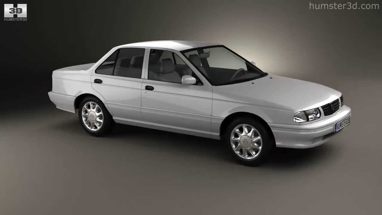 Nissan Tsuru 2004 by 3D model store Humster3D.com - YouTube