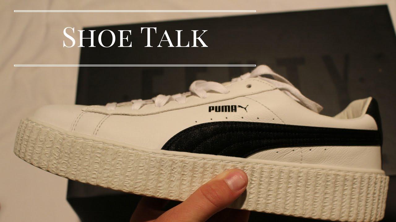 new concept 2666c ebb13 SHOE TALK: on feet Puma x Rihanna Fenty Creeper Mens