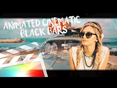 Animated Cinematic Bars - Free Download - Final Cut Pro X