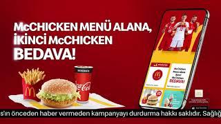 Kırmızı Beyaz Aşkına McDonald's'tan Milyonlarca Bedava