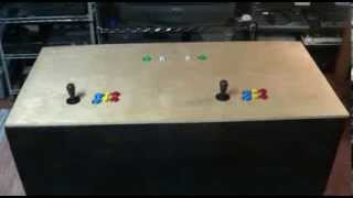 Tvgc -  Mame Arcade Coffee Table Cabinet Build Video How To Ideas