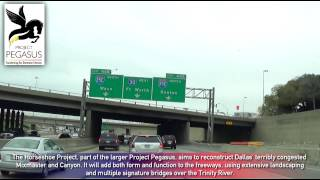I-30 Through the Dallas - Fort Worth Metroplex