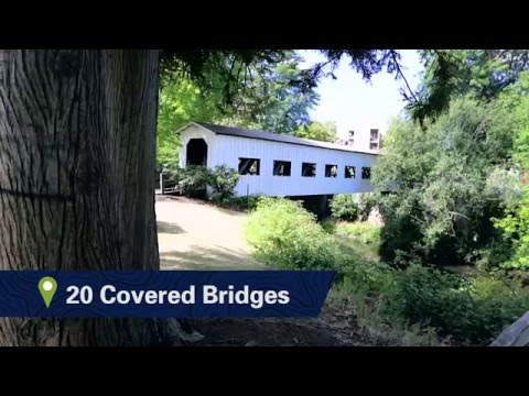 Covered bridges in Lane County, Oregon