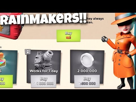 Boom Beach the Rainmakers are BACK!!