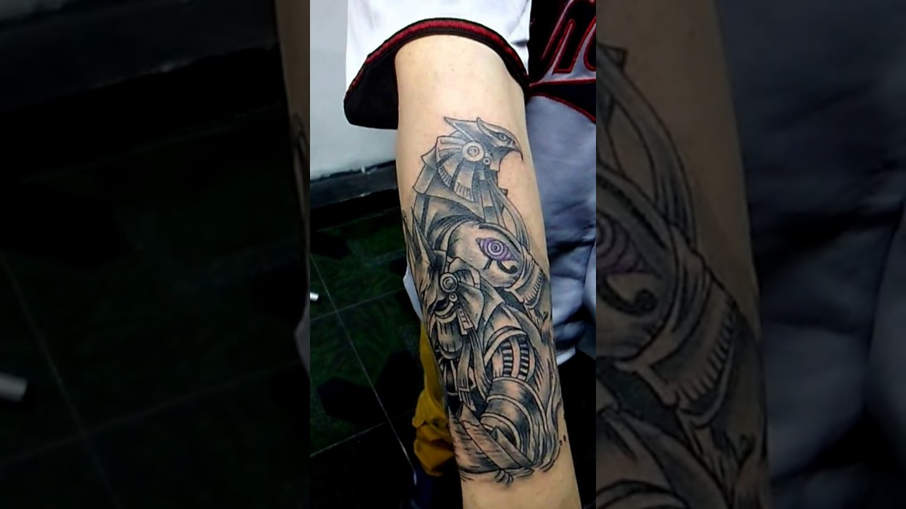 Tatuaje Dioses Egipciostegua Tattoo Youtube