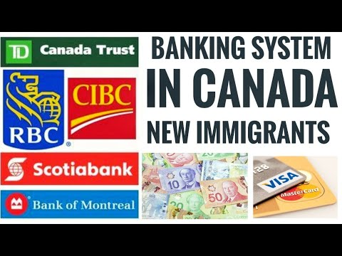 Banking System In CANADA || New Immigrants