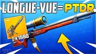 Fortnite: This Weapon Is Bizarre on Fortnite Saving the World!! - ( Long-View)