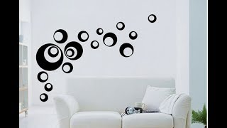 Ideas y diseños faciles de decoracion de paredes con pintura