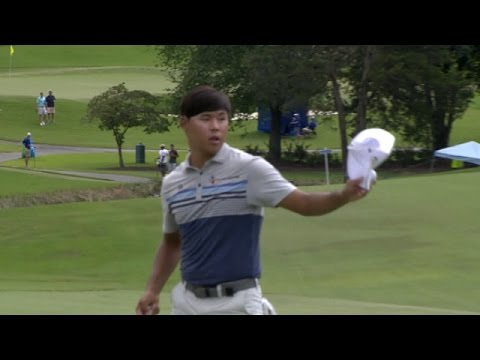 Round 2 highlights from the Wyndham Championship