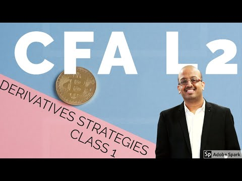 CFA Level 2 | CFA L 2 | CFA L II DERIVATIVES STRATEGIES CLASS 1 Part 1