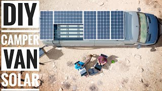 Video How to Install Solar on a DIY Campervan | Adventure in a Backpack download MP3, 3GP, MP4, WEBM, AVI, FLV Januari 2018