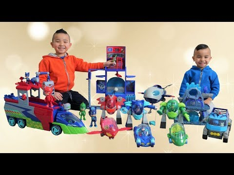 PJ MASKS CITY New Seeker and Turbo Mover CKN Toys