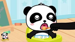 赤ちゃん お世話ごっこ❤ おむつ替えトレーニング | 赤ちゃんが喜ぶアニメ | 動画 | BabyBus thumbnail