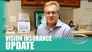 Vision Insurance Update