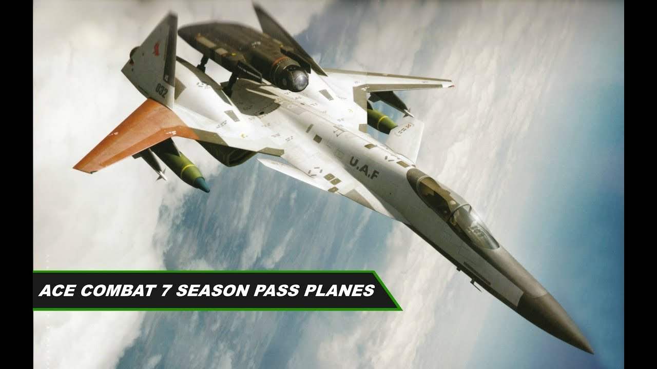 AC7 ADFX-02 Morgan and ADF-01 Falken confirmed for Season Pass? + minor  extra info | Ace Combat 7