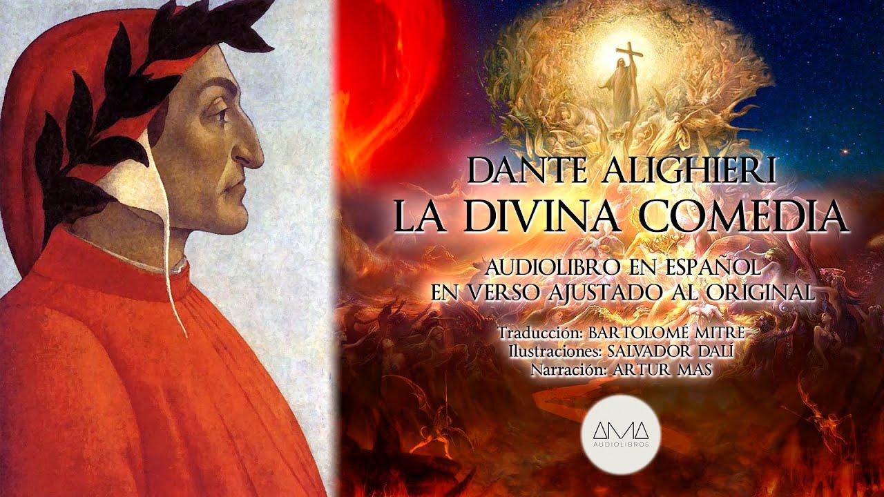 """Dante Alighieri - La Divina Comedia (Audiolibro Completo en Español) """"Voz Real Humana"""""""