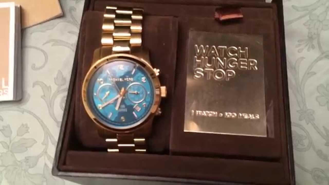 87b929c54ac8 Michael Kors Runway Limited Edition Watch - YouTube