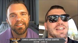 ACB 88's Chris Camozzi talks Thiago Silva matchup Saturday & Coaching on TUF 27