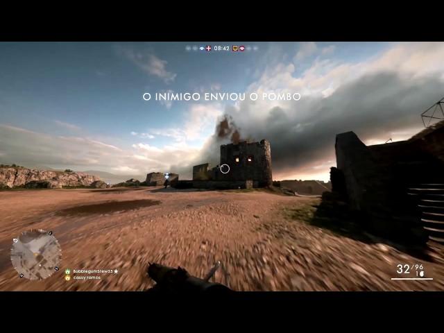 BF1 - Sofrencia de um nub atrás do pombo - Xbox one