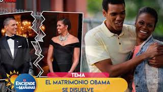 El matrimonio Obama se disuelve