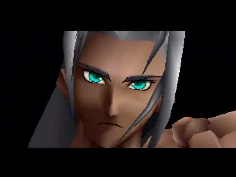 Final Fantasy 7 - Cloud omnislash vs Sephiroth