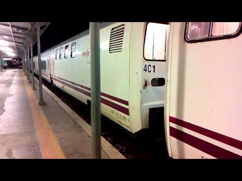 Sud Express / Lusitânia - chegada ao Entroncamento