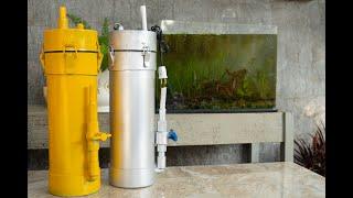 DIY internal aquarium filter from PVC