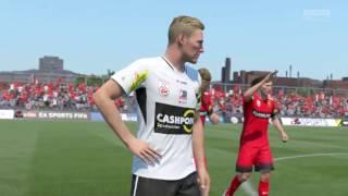 FIFA 17 - Admira Wacker vs SCR Altach @ Stadion 23. Maj