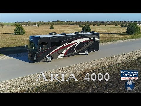 Thor Motor Coach Aria 4000 - Sleeps 10! 2 Baths, Bunks, Power Loft! 2018 2019 at MHSRV.com