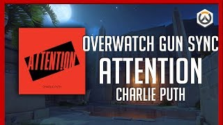 Attention - Charlie Puth | Overwatch GUN SYNC