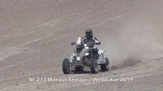 Nr.273 Manuel Andujar, Dakar Rally 2019. 7240 Team.
