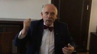 ✪ NA ŻYWO ✪ Janusz Korwin-Mikke w Sejmie - tematy bieżące + pytania 09.01.2020