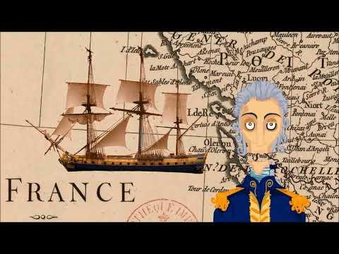 Carnet de bord  de l'Hermione, La Fayette embarque à Rochefort