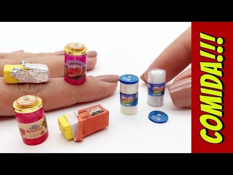 Como fazer Manteiga Geleia e Requeijão para Barbie e outras Bonecas