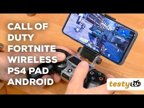 Call of Duty Mobile, Fortnite na PS4 Pad (Android, Bluetooth)