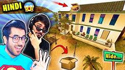 Hide & Seek Prop Hunt in ISLAND HOUSE ⭐ Hitesh KS and Quasar | Hindi Funny Moments